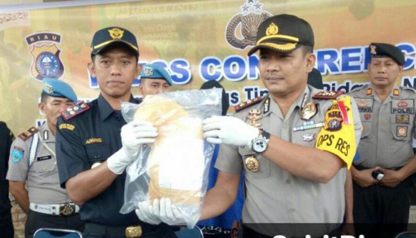Dua Kilo Sabu-sabu dari Malaysia Diamankan, Hendak Diedarkan di Aceh