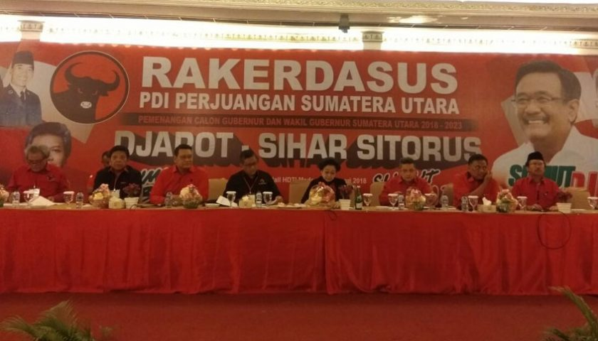 PDI Perjuangan Siapkan Pemenangan Djarot-Sihar