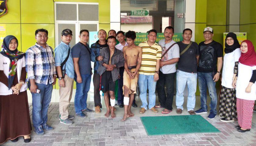 Dua Perampok Ditembak Polsek Medan Area
