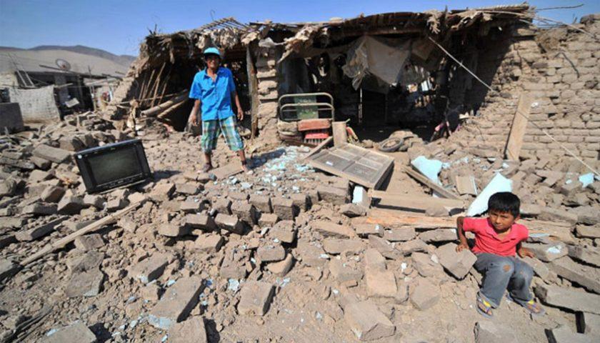 Gempa di Peru 7.1 SR, Dua Tewas, 65 Terluka