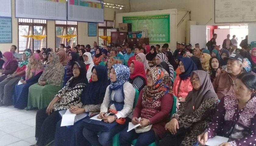 KPU Kota Medan Bintek PPDP di Medan Deli