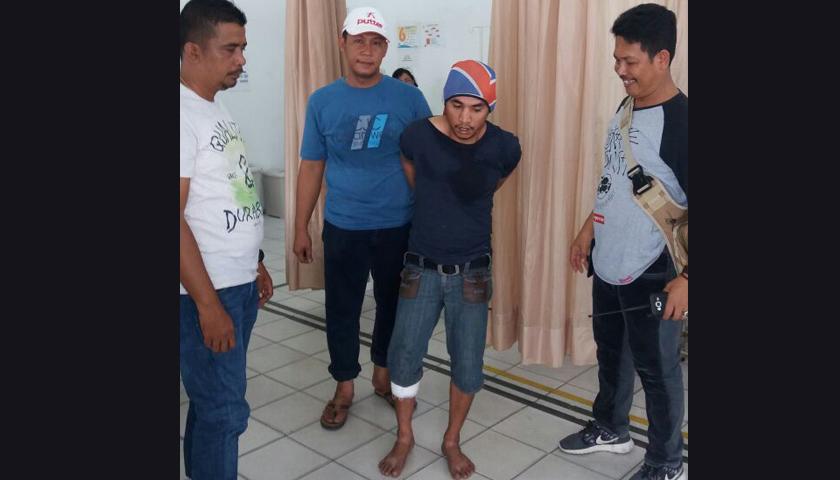 Buronan Perampok Mahasiswa di Belawan Ditembak