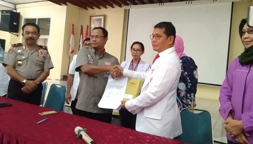 RSUP Adam Malik Serahkan Rekomendasi 79 Dokter Spesialis ke KPU Sumut