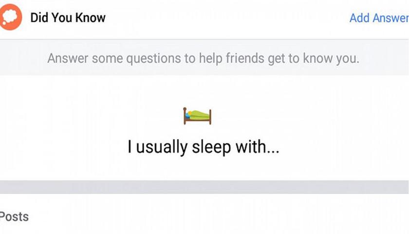 Dianggap Ganggu, Facebook Hapus Pertanyaan 'Tidur Sama Siapa' di Fitur Baru