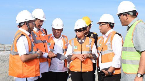 Menteri Keuangan Pimpin Diskusi Perluasan Pelabuhan Belawan