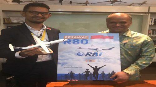Insan Media Galang Dukungan Untuk Pesawat R80 Rancangan BJ Habibie