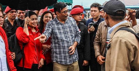 Kata Djarot Saiful Hidayat, Pilkada jangan Dibawa Marah-marah