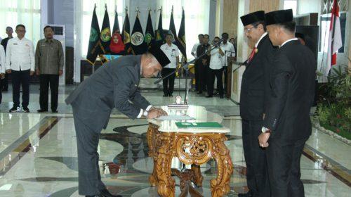 Faisal Hasrimy Menjabat Pjs Bupati Batubara
