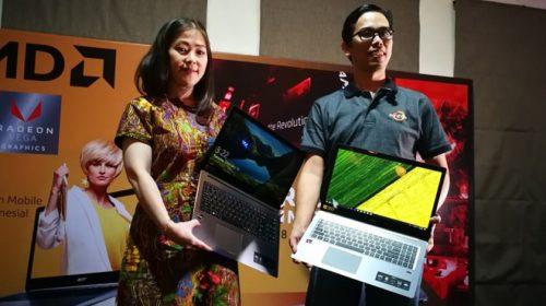Acer Luncurkan Laptop Bertenaga AMD Ryzen Pertama di Indonesia