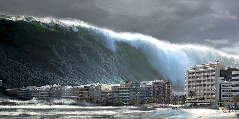 Bencana Mega Tsunami akan Hapus Peradaban Manusia