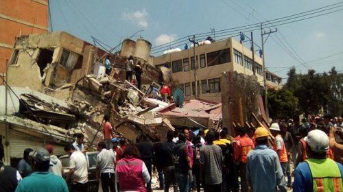 Meksiko Diguncang Gempa 7,2 SR