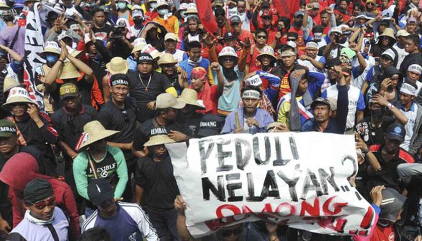 Ribuan Nelayan Demo DPRD Sumut, Hindari Jalan Ini…!!!