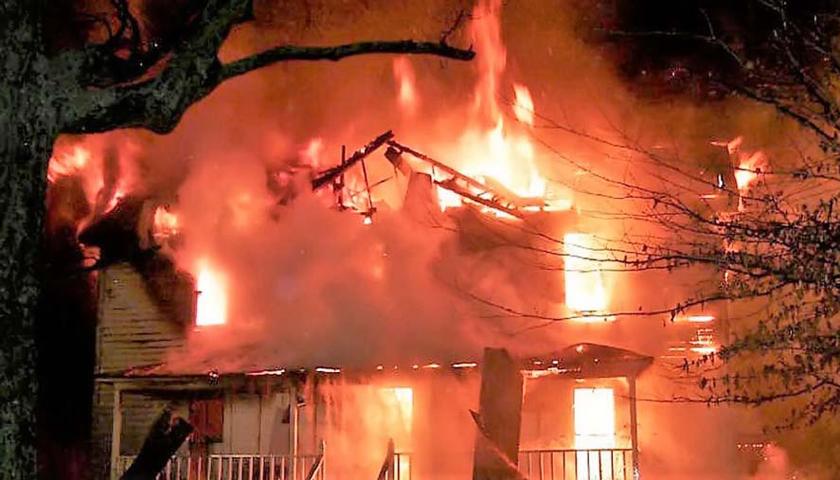 Satu Unit Rumah Permanen di Medan Petisah Terbakar