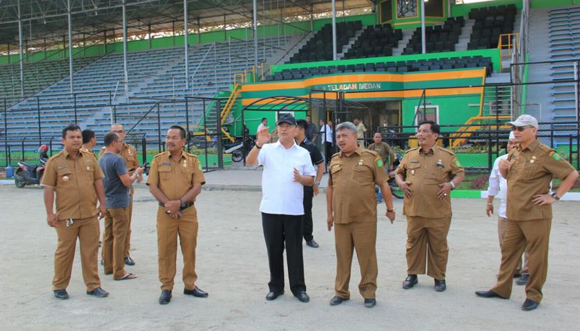 Walikota Medan Optimis Stadion Teladan Lolos Verifikasi
