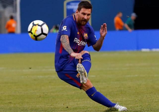 Lionel Messi Jadi Raja Gol Liga Spanyol