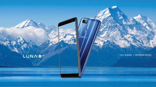 LUNA V Lite, Smartphone Fullscreen Dibanderol Rp1 Jutaan