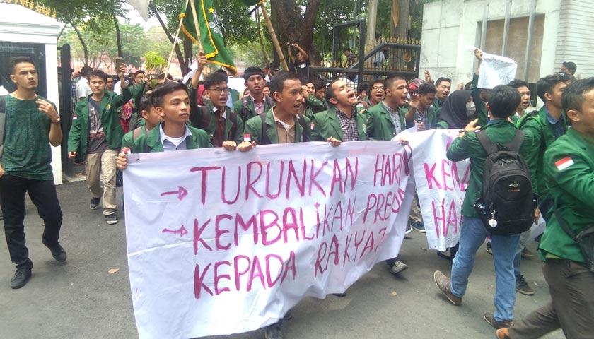 Demo BBM, Anggota DPRD Sumut Ngaku Tak Digubris Pemerintah dan PT Pertamina