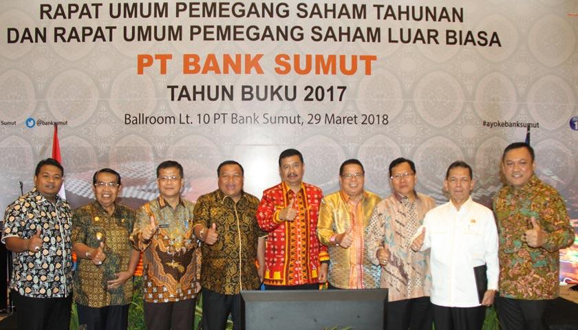 Gubsu: Ekspansi Bank Sumut ke Luar Provinsi Mulai April 2018