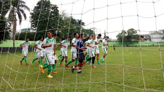 Hadapi Bhayangkara FC, Djanur Evaluasi Lini Depan PSMS Medan