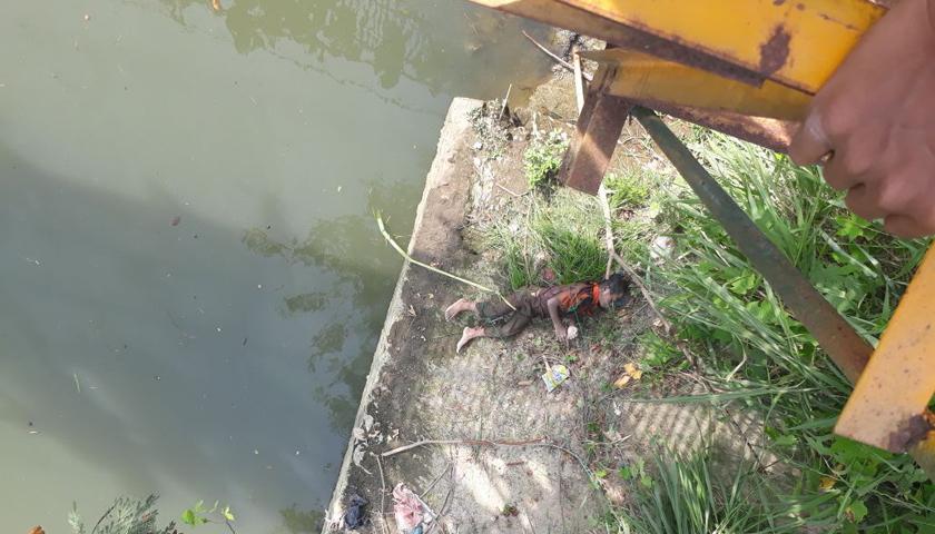 Remaja 13 Tahun Tewas Mengapung di Sungai Deli