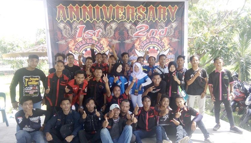 Anniversary Komunitas GMR Chapter Medan dan Binjai