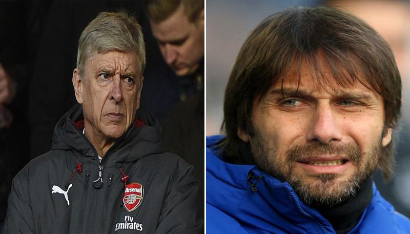 Arsene Wenger dan Antonio Conte Tengah Berjuang Menyelamatkan Diri