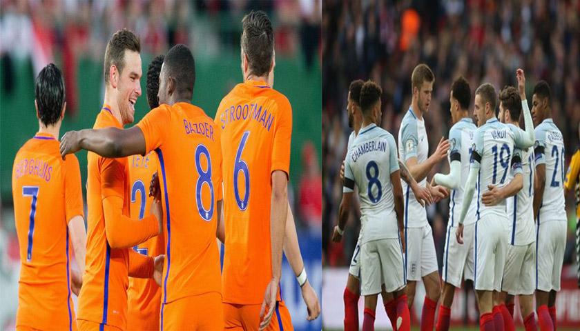Prediksi Pertandingan Persahabatan Belanda vs Inggris 24 Maret 2018