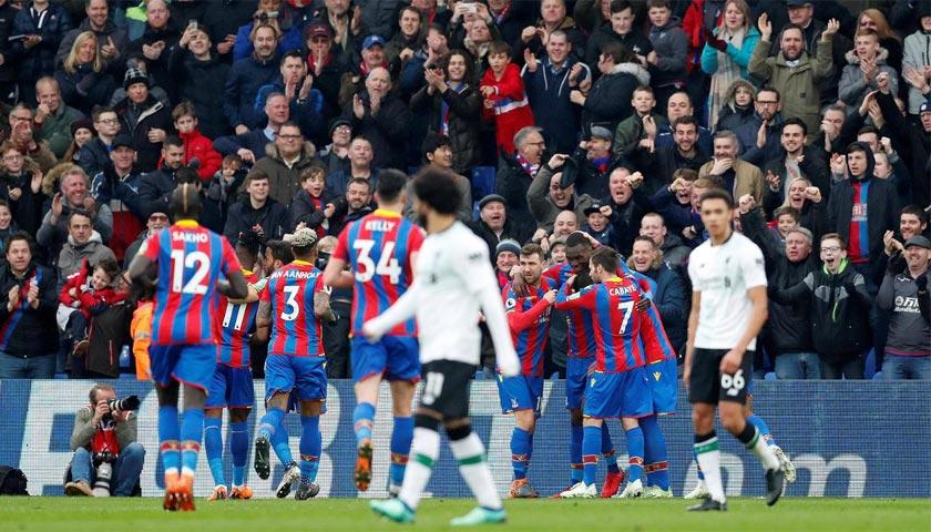 Crystal Pelace Sementara Unggul 1-0 dari Liverpool