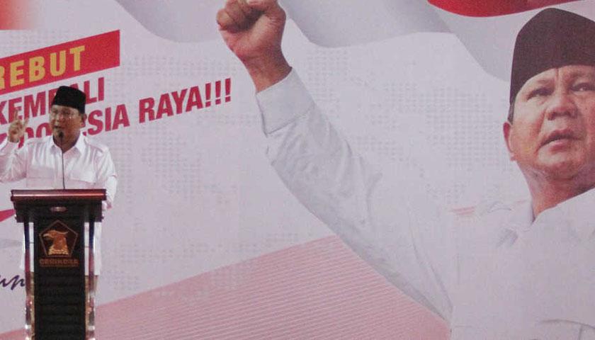 Godok 15 Calon Wakil, Prabowo Akan Deklarasi Capres