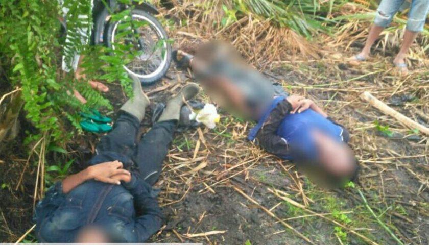 Disambar Petir, Dua Pembabat Rumput Tewas Terkapar