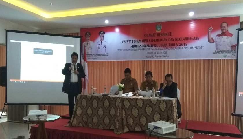 Dispora Sumut Gelar Forum OPD Kepemudaan dan Keolahragaan