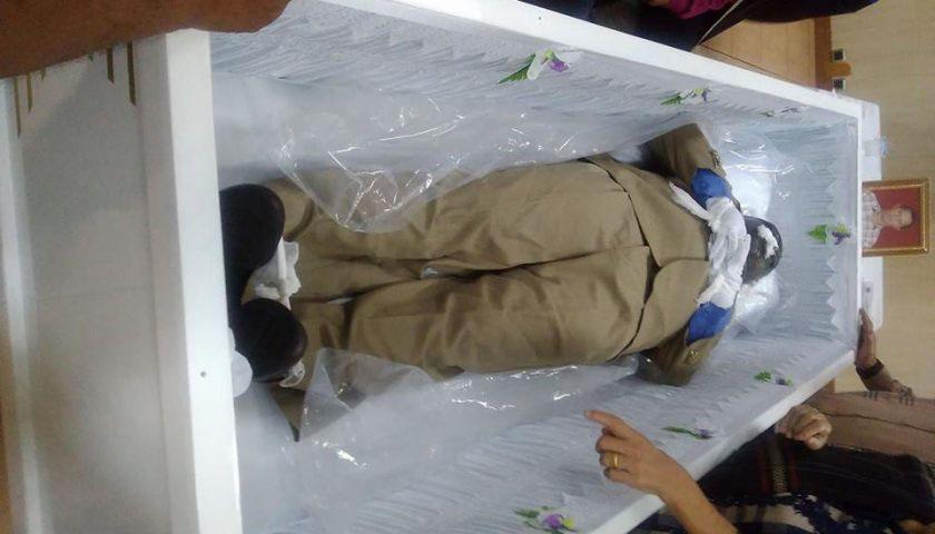Jasad Justinus Sinaga, Korban Perampokan yang Tewas di Bogor Tiba di Siantar