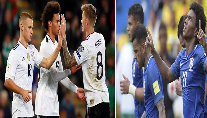 Prediksi Pertandingan Ujicoba Jerman vs Brasil 28 Maret 2018