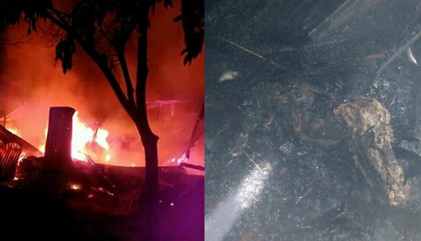 Kebakaran di Bandar Jawa, Nenek 67 Tahun Tewas Terpanggang