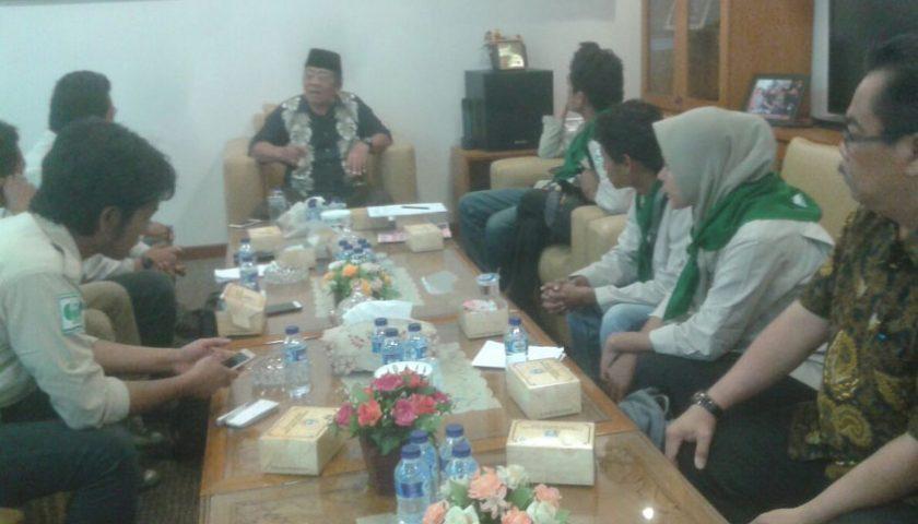 Ketua DPRD Sumut Terima Mapasta UIN Sumut