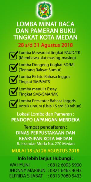 Lomba baca Pemko Medan