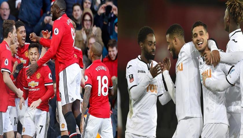 Prediksi Manchester United vs Swansea City 31 Maret 2018