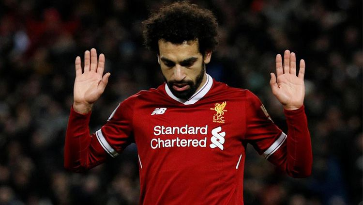 Mohamed Salah Menolak Halus Tawaran Madrid dan Barcelona Senilai Rp 3,8 T