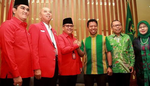 Bersama PDIP Bahas Tiga Isu, PPP Solid Dukung Jokowi