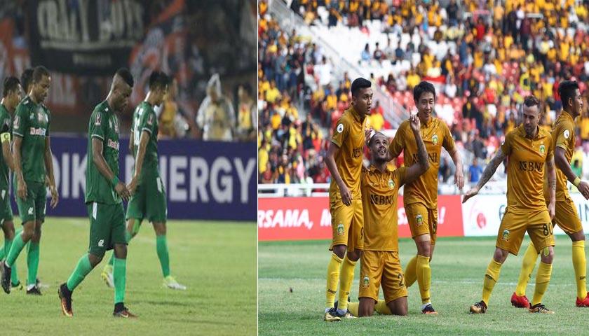 """Liga 1 Indonesia 2018, PSMS Medan """"Keok"""" di Kandang"""