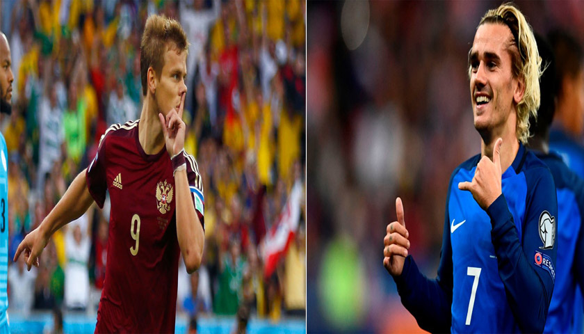 Prediksi Rusia vs Prancis Selasa 27 Maret 2018