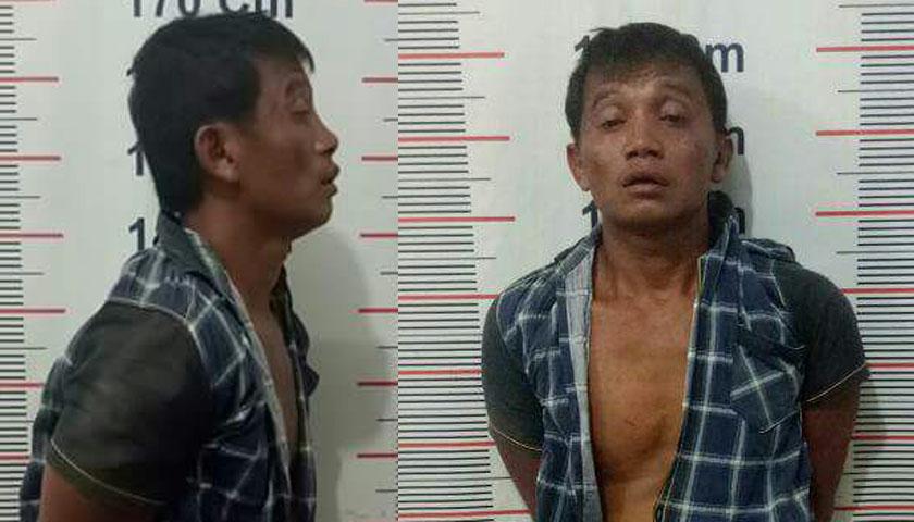 Simpan Sabu, Bangun Diciduk Polsek Kuala