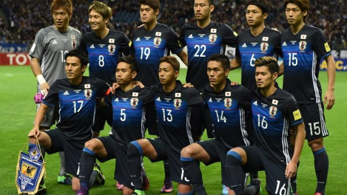 Profil Timnas Jepang Piala Dunia 2018