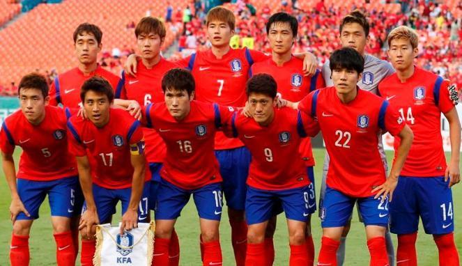 Timnas Korea Selatan The Red Devils-nya Asia di Piala Dunia 2018
