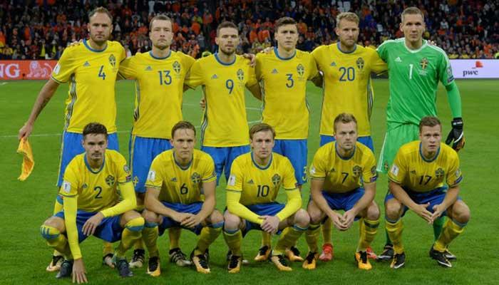 Timnas Swedia Lolos Piala Dunia 2018 Melalui Perjuangan Melelahkan