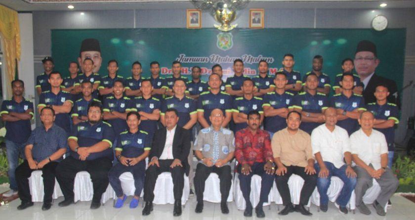 Wali Kota Gelar Jamuan Makan Malam dengan Punggawa & Offisial PSMS Medan