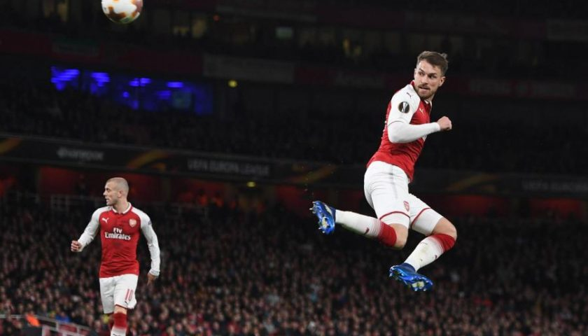 Arsenal Dipastikan Lolos Semifinal Liga Eropa, Arsene Wenger Tersenyum