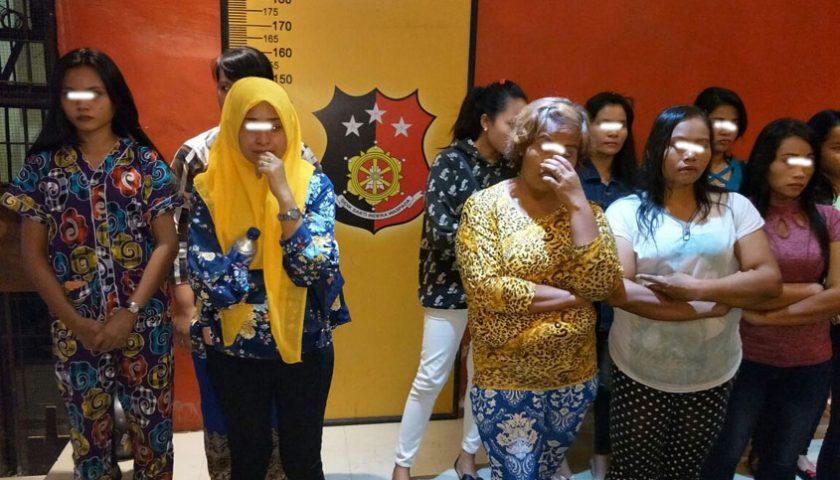 Belasan PSK Diamankan dari Cafe Benteng, Tiga Masih Dibawah Umur