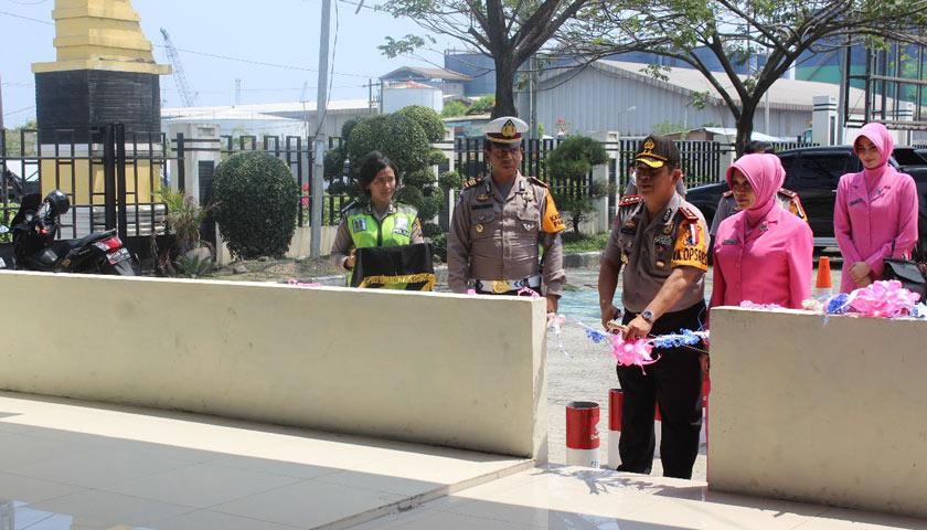 Gedung Satpas Dan Pelayanan SIM Polres Pelabuhan Belawan Resmi Dibuka