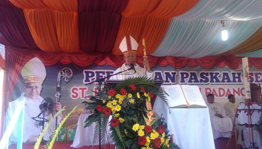 Uskup Agung Medan: Yesus Punya Tiga Predikat Unik
